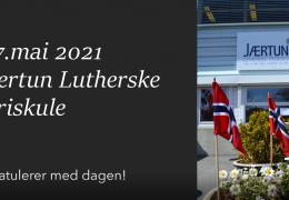 17.mai 2021 på Jærtun